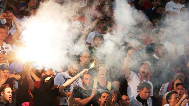 UEFA le ameninta pe Anglia si Rusia: ambele echipe risca sa fie excluse din competitie daca fanii lor mai au derapaje - Imaginea 10