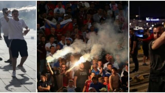UEFA le ameninta pe Anglia si Rusia: ambele echipe risca sa fie excluse din competitie daca fanii lor mai au derapaje - Imaginea 11