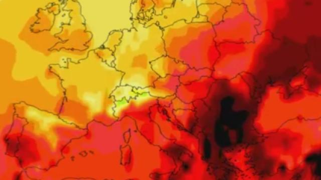Alerta de canicula pentru Sud-Estul Europei, inclusiv Romania. Temperaturile vor depasi 40 de grade. Cand intra in vigoare