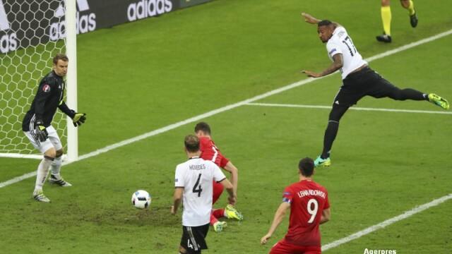 GERMANIA - POLONIA 0-0. Primul meci fara gol marcat de la UEFA EURO 2016. Milik a ratat ocazia turneului. VIDEO