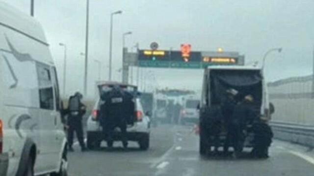 incidente imigranti in Calais