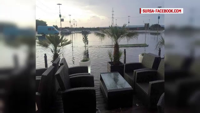 terasa inundata Bacau