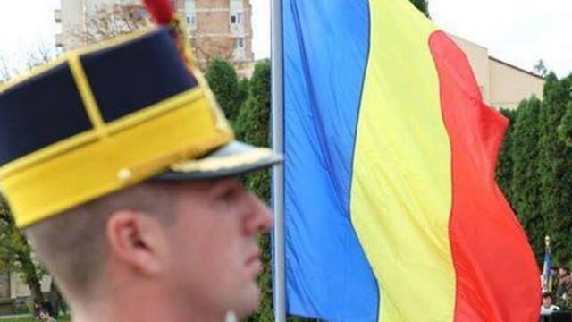 Ceremonie de Ziua Drapelului Romaniei, in Piata Tricolorului. Mesajul presedintelui Klaus Iohannis