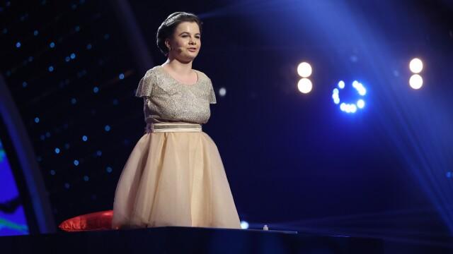 Media obținută de Lorelai Moșneguțu, câștigătoarea \