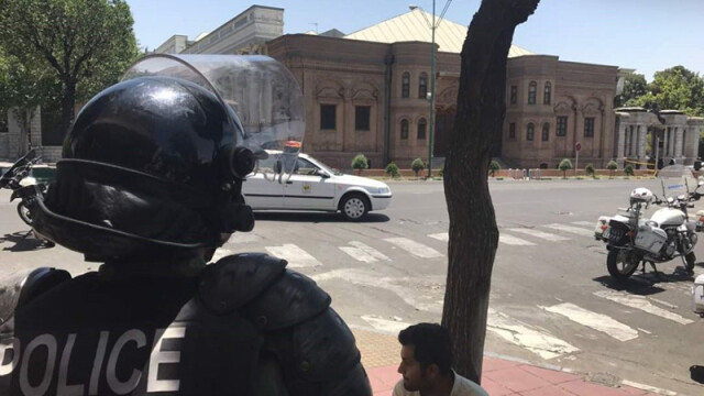 politie in teheran