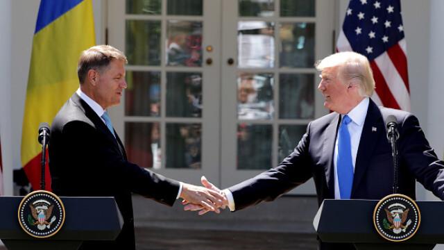 Donald Trump - Klaus Iohannis - 1