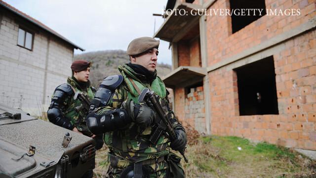 soldati din Kosovo
