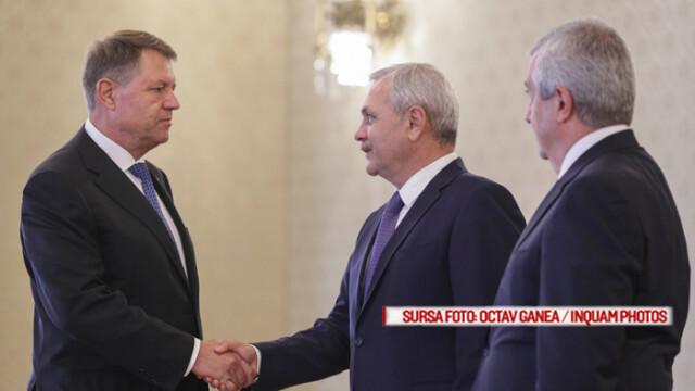 Iohannis, despre Dragnea: Persoane care sunt cercetate penal nu trebuie să fie în conducerea statului