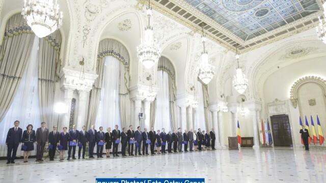 Ceremonia de investitura a Guvernului Tudose