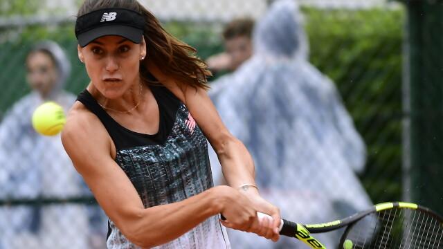 Sorana Cîrstea, în optimile probei de dublu la Roland Garros