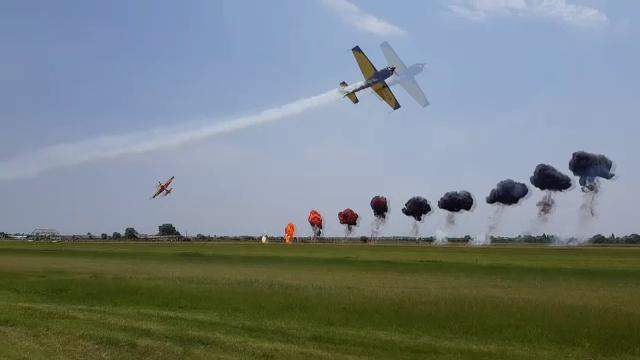 Clinceni Air Show. Spectacolul aviatic dedicat copiilor