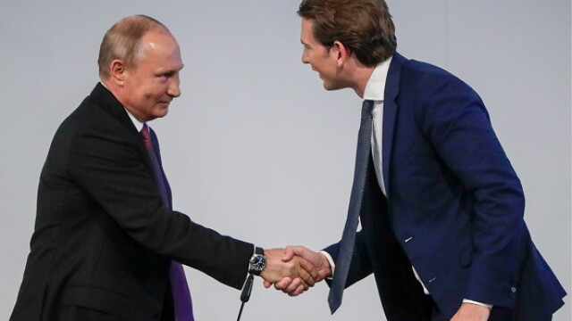 Sebastian Kurz Vladimir Putin