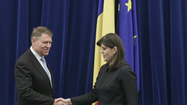 """Iohannis, după validarea lui Kovesi în Consiliul UE: """"Victorie importantă pentru România"""""""