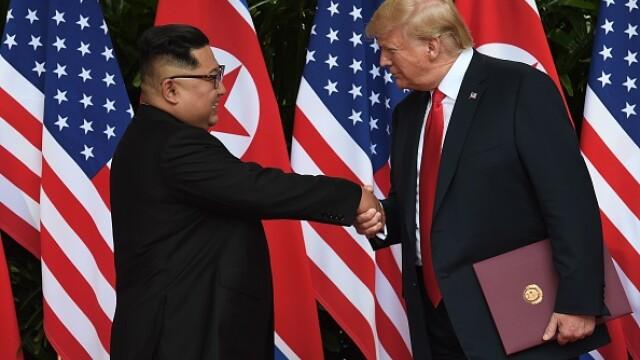CNN: Trump i-a trimis o scrisoare lui Kim Jong-Un. Ce i-ar fi cerut