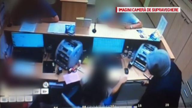 Portretul robot al suspectului care a jefuit o bancă din Cluj-Napoca. FOTO