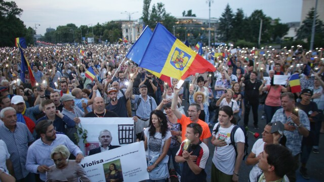 """Proteste anunţate duminică în București şi în ţară: """"Cod roşu de OUG"""""""