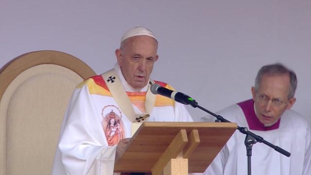 Papa Francisc în România. 150.000 de pelerini au fost alături de Papă, la Iași, în a doua zi a vizitei. VIDEO - Imaginea 15