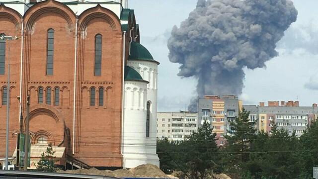 Dezastru în Rusia. Zeci de răniți după o explozie la o uzină de muniții. VIDEO