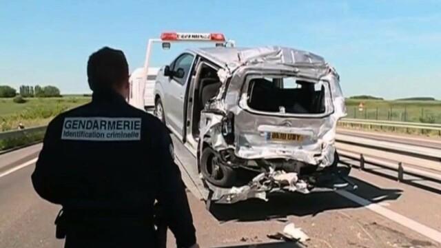 Imagini de la accidentul cu 3 români morți și 4 răniți. Printre victime se află și un bebeluș