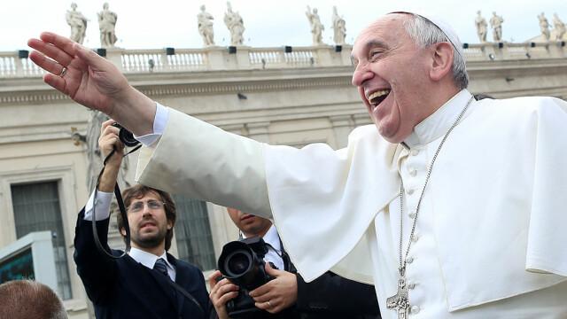 Papa Francisc la Vatican in 2013