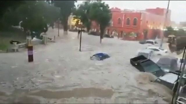 """Un oraș din Mexic """"s-a scufundat"""" , în urma ploilor torențiale"""