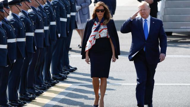 """Melania Trump, apariție în stil """"My Fair Lady"""" în Marea Britanie. GALERIE FOTO - Imaginea 7"""