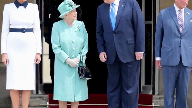 """Melania Trump, apariție în stil """"My Fair Lady"""" în Marea Britanie. GALERIE FOTO - Imaginea 9"""