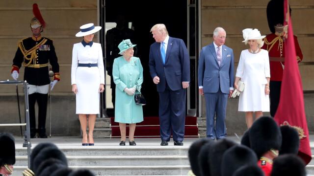 """Melania Trump, apariție în stil """"My Fair Lady"""" în Marea Britanie. GALERIE FOTO - Imaginea 11"""