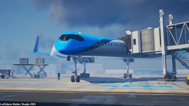 Avionul care ar putea revoluționa cursele aeriene. Ce dotări unice are. VIDEO - Imaginea 1