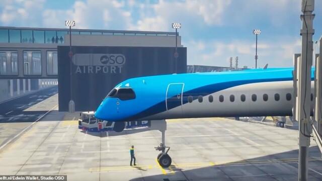 Avionul care ar putea revoluționa cursele aeriene. Ce dotări unice are. VIDEO - Imaginea 2
