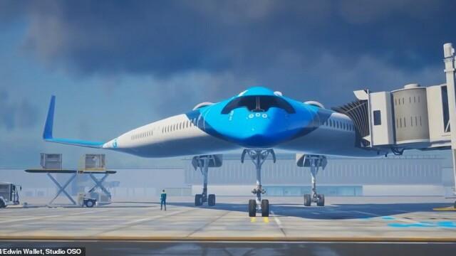 Avionul care ar putea revoluționa cursele aeriene. Ce dotări unice are. VIDEO - Imaginea 3
