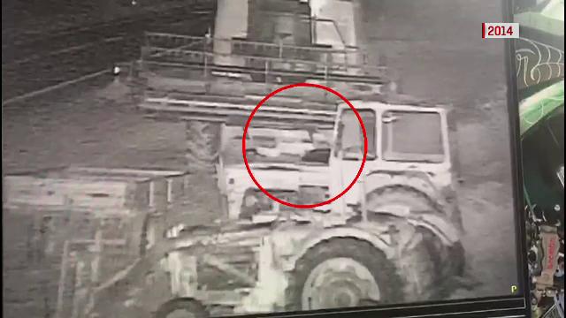 Imagini cu jaful pentru care era căutat ucigaşul poliţistului din Timiş