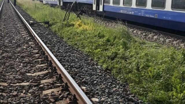 ANIMAȚIE GRAFICĂ cu trenul deraiat după ce a lovit un camion în Bacău - Imaginea 17
