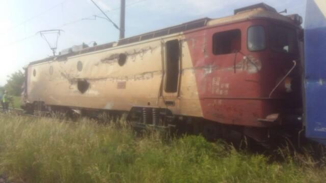 ANIMAȚIE GRAFICĂ cu trenul deraiat după ce a lovit un camion în Bacău - Imaginea 9
