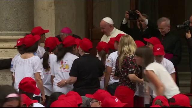 Secretul dezvăluit de Papa Francisc în timpul unui eveniment rar, la Vatican - Imaginea 3