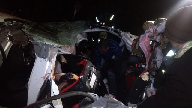 Accident groaznic, soldat cu 17 morți. Un autocar s-a transformat într-un morman de fiare