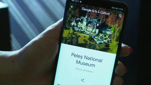 Lecție de istorie, la un click distanță. Castelul Peleș poate fi vizitat și virtual