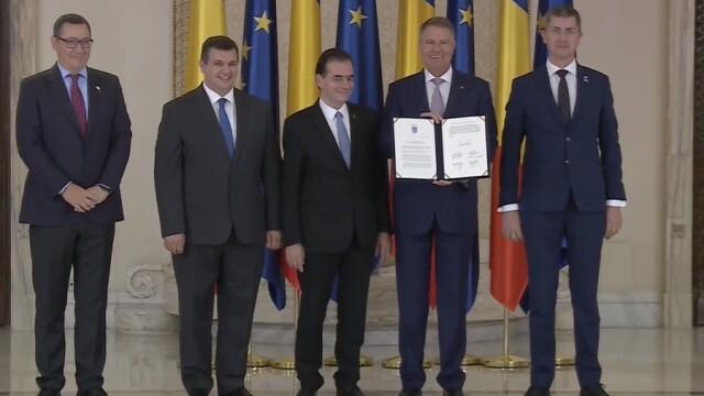 Invitația făcută de Klaus Iohannis partidului PSD la semnarea Pactului Naţional