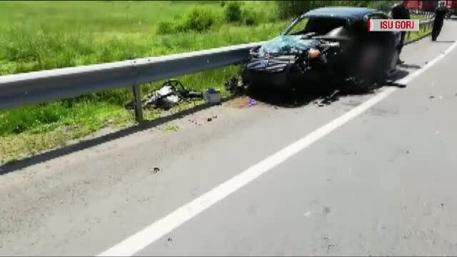 accident gorj