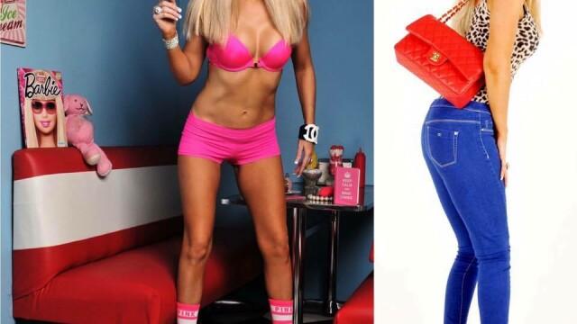 A cheltuit 35.000£ pentru a semăna cu o păpușă Barbie. Cum arăta în trecut - Imaginea 5