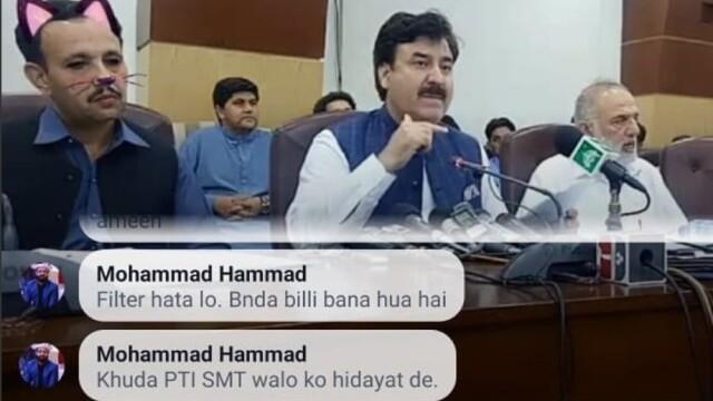 Politicieni cu mustăți și urechi de pisică, în timpul unei ședințe. Momentul, transmis live - Imaginea 3