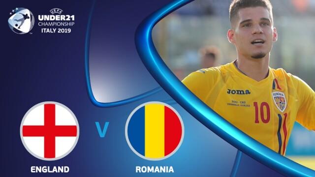Victorie uriașă pentru România în fața Angliei, scor 4-2, la Euro U21 - Imaginea 16