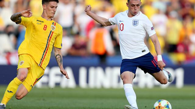 Victorie uriașă pentru România în fața Angliei, scor 4-2, la Euro U21 - 16