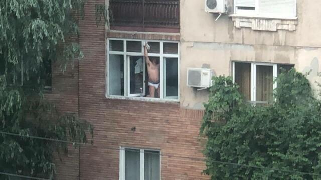 Ipostazele în care a fost filmat un bărbat, în Capitală. Era supravegheat de soție - Imaginea 2