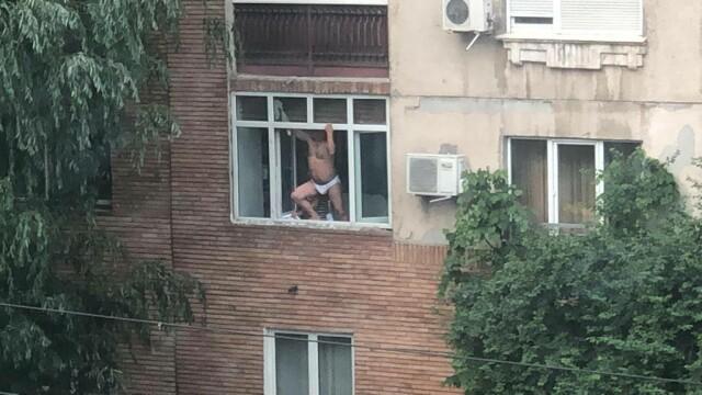 Ipostazele în care a fost filmat un bărbat, în Capitală. Era supravegheat de soție - Imaginea 3
