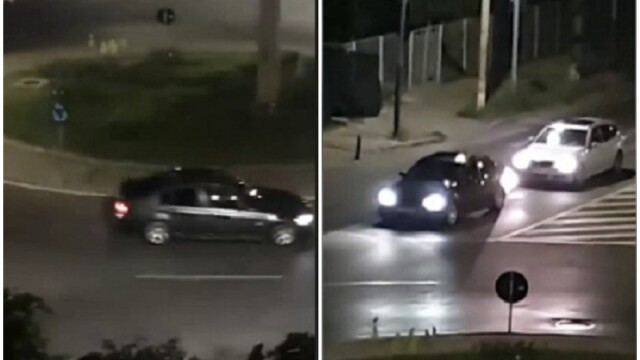 Doi tineri care au făcut drifturi în Bacău sunt căutați de polițiști