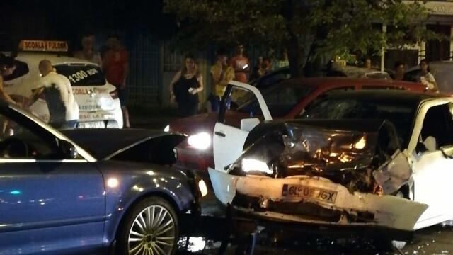 Scandal după un accident în Galați, provocat de un șofer băut. Al doilea șofer, și el băut - Imaginea 4