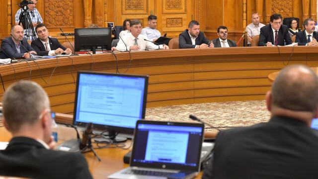 comisie in Parlament