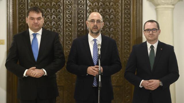 UDMR amenință că dărâmă Guvernul PNL dacă acesta își asumă răspunderea pe votul în 2 tururi