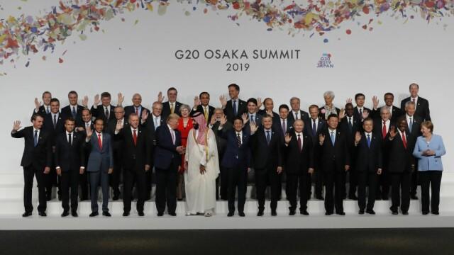 Summitul G20 a început vineri la Osaka. Tensiunile între SUA și China, principalul subiect - Imaginea 2